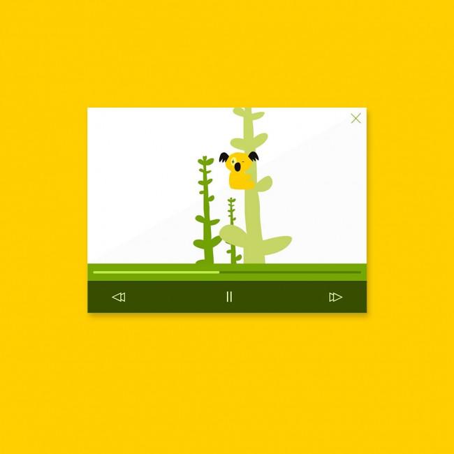 Yellow Koala