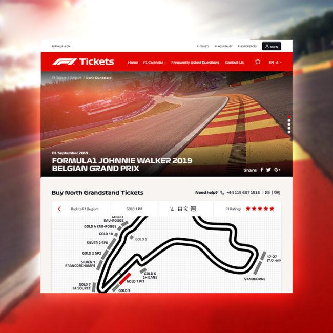 F1 Group Ticketshop