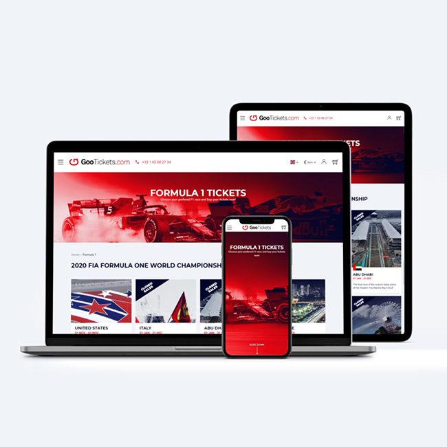 GooTickets website